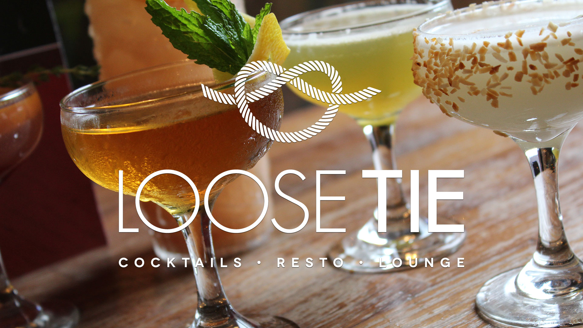 Loose Tie Signature Cocktails and Small Plates
